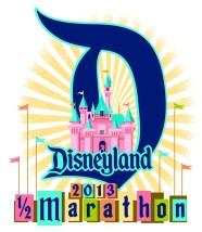 2013 Disneyland Half Marathon Logo