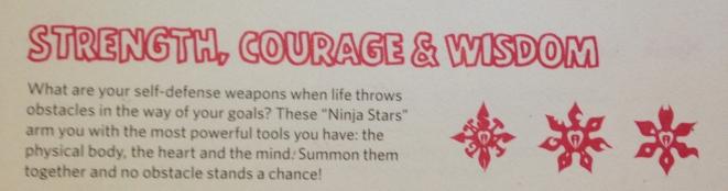 Strength Courage Wisdom