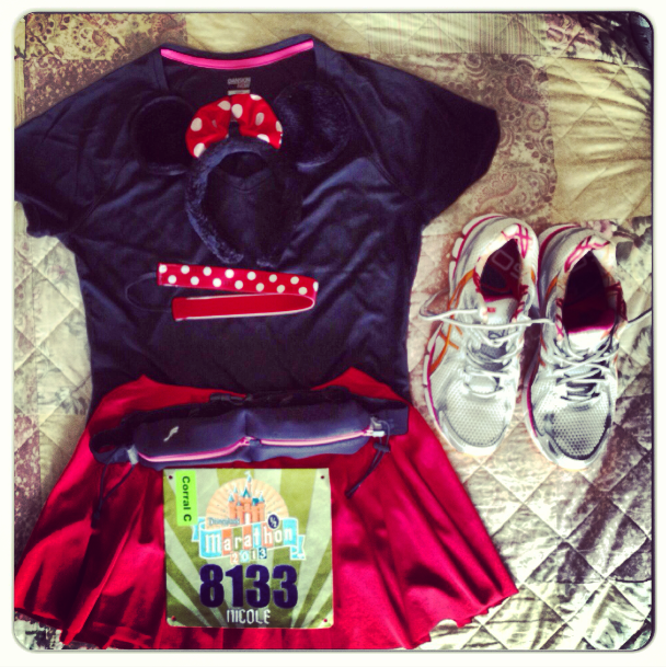 Disneyland Half Race Outfit