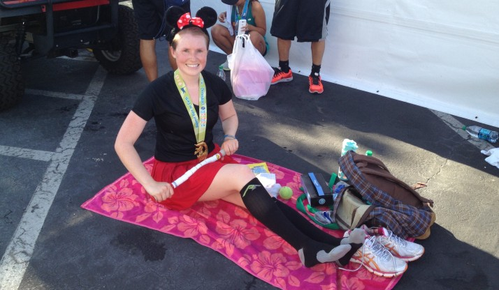 Disneyland Half Marathon 2013: Post Race